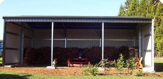 3 bay farm shed for 3 bay shed